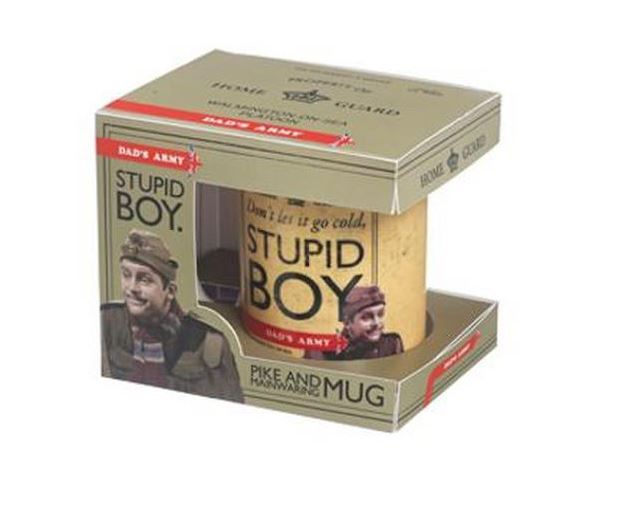 Stupid Boy - Dads Army Mug