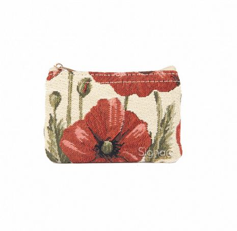 Poppy Signare Zip Coin Purse