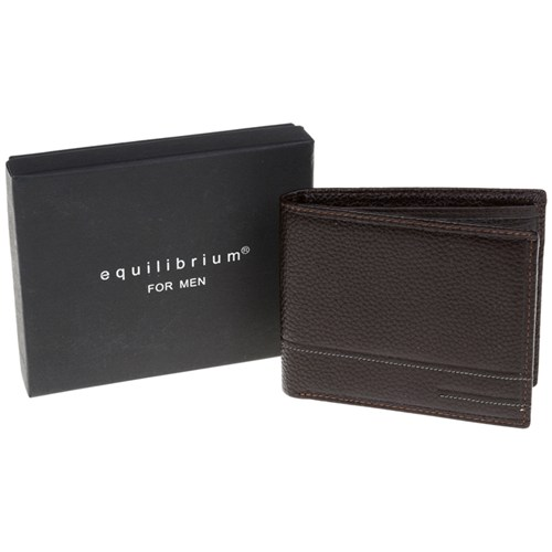 Gents Plain Brown Leather Wallet