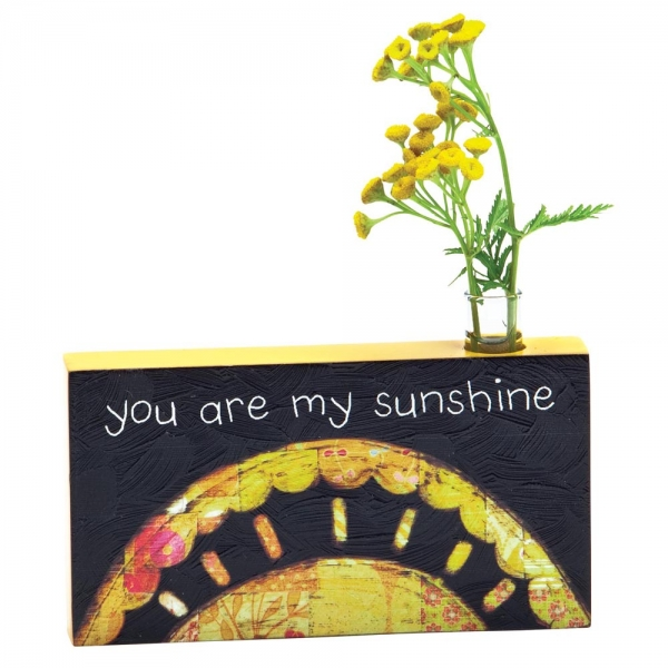You Are My Sunshine Bud Vase