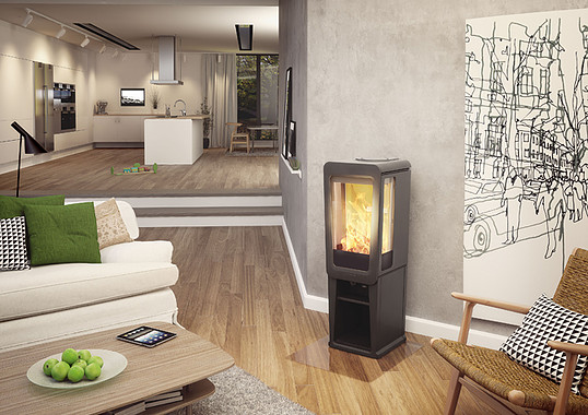 Keddy K816 4-9kW Woodburning Stove