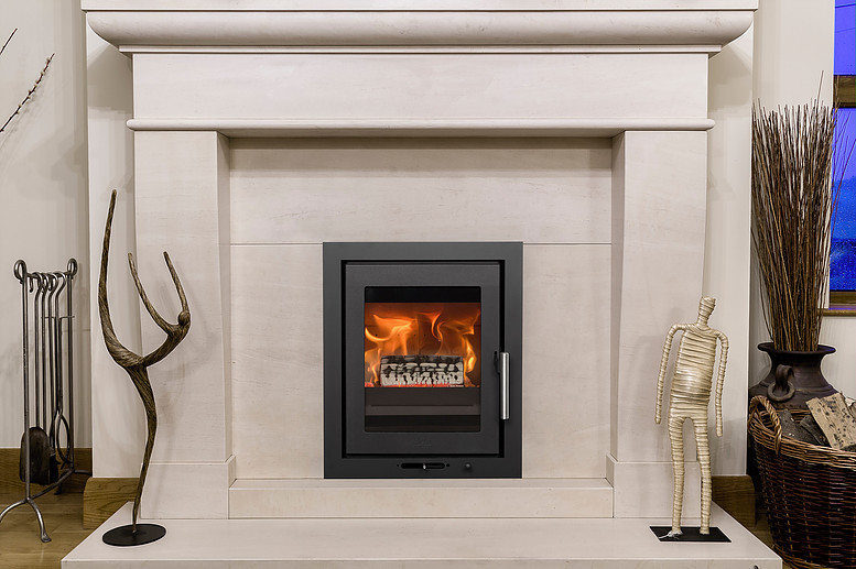 Heta Inspire 40 4kW Inset Wood Burning Stove