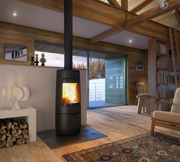 Dovre Bold 400 7KW Cast Iron Woodburning Stove