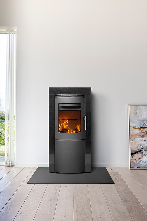 Heta Scan-Line Craft 5.5kW Woodburning Stove