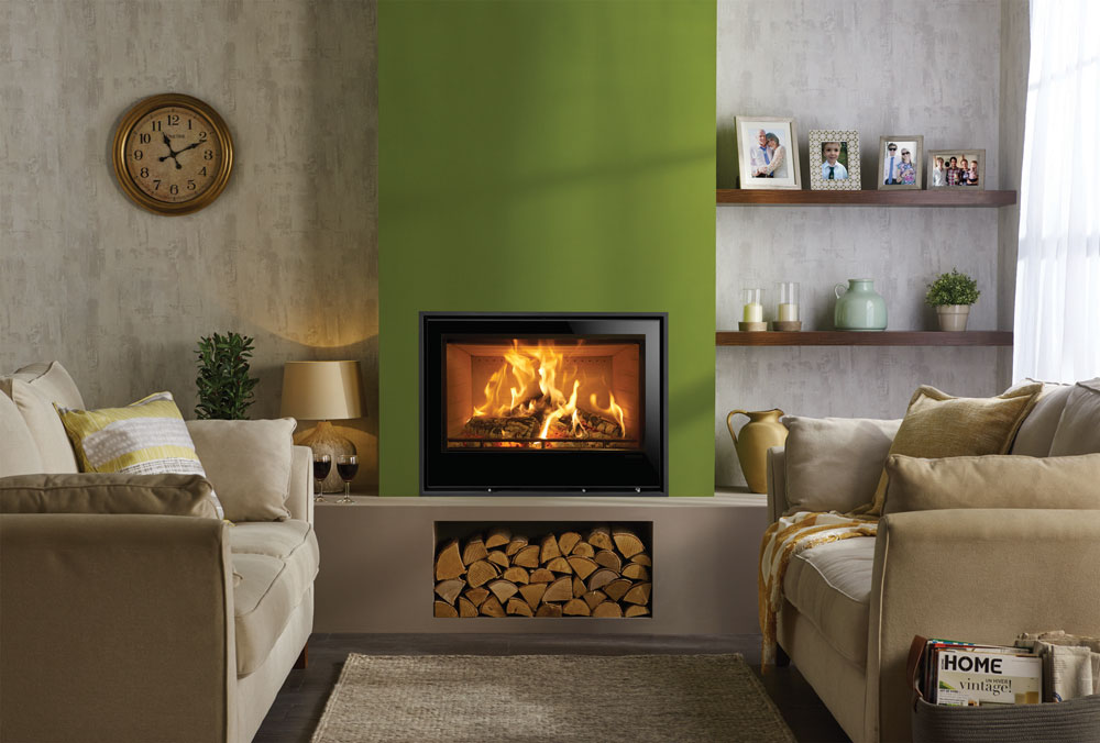 Stovax Elise Glass Wood Burning & Multifuel Inset Fires