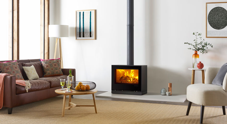Stovax Elise 680 Freestanding Stove Woodburning and Multi-fuel Options