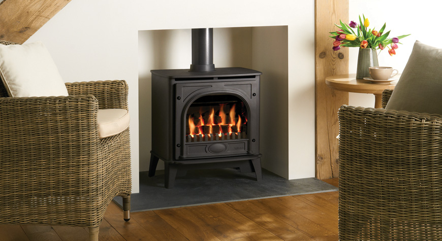 Gazco Medium Stockton 5.28kW Gas Stove