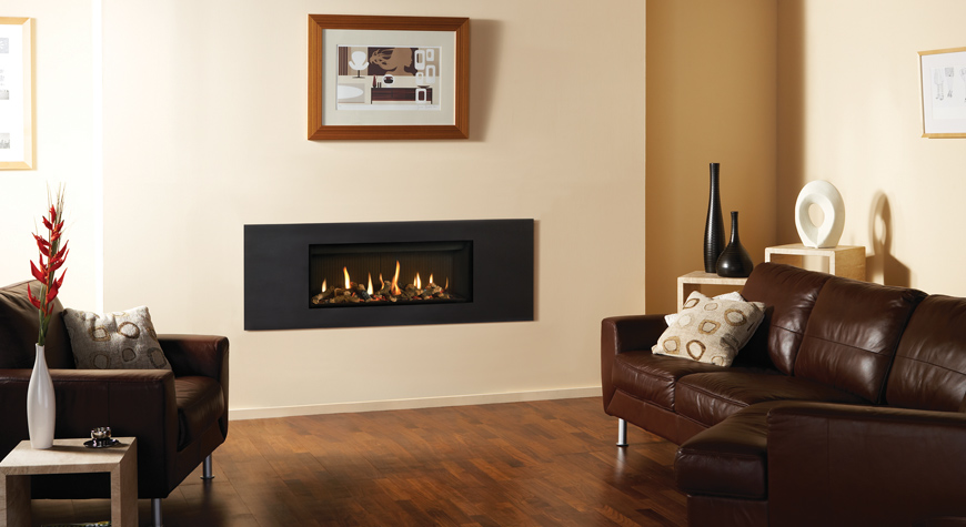Gazco Studio Steel 2 Gas Fires