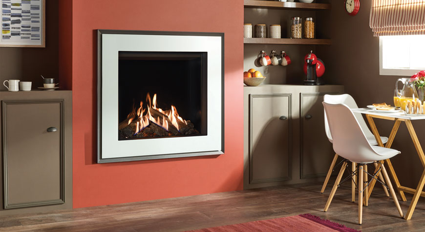 Gazco Reflex 75T Evoke Glass 8.6kW Gas Fire