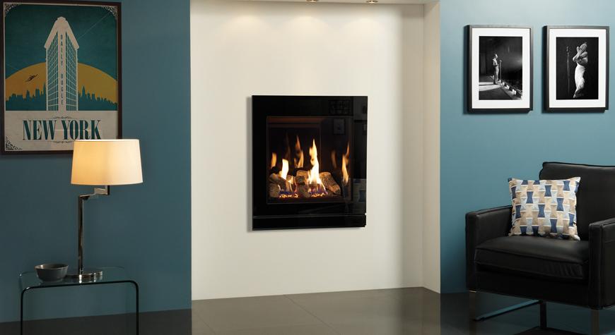 Gazco Riva2 530 5kW Designio2 Glass Gas Fire