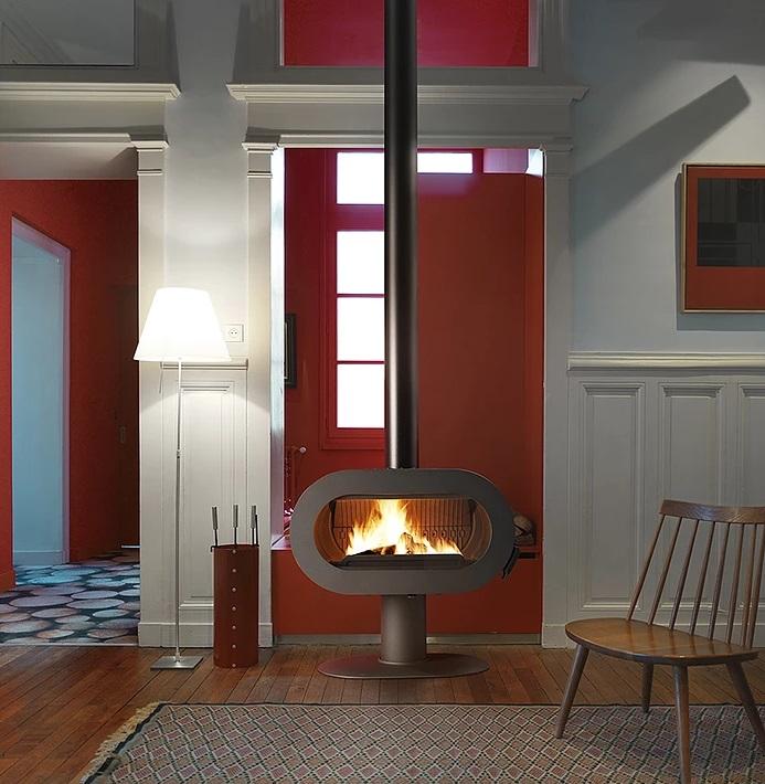 Invicta Fifty 10kW Ecodesign 2022 Ready Cast Iron Wood Burning Stove