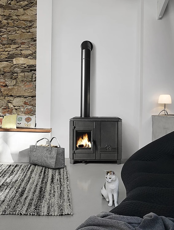 Invicta Carolo Mix 7kW Eco Design 2022 Hybrid Dual Fuel Stove