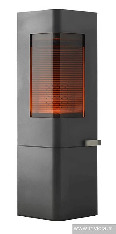 Invicta Moaï 8kw Eco Design 2022 Cast Iron Wood Stove