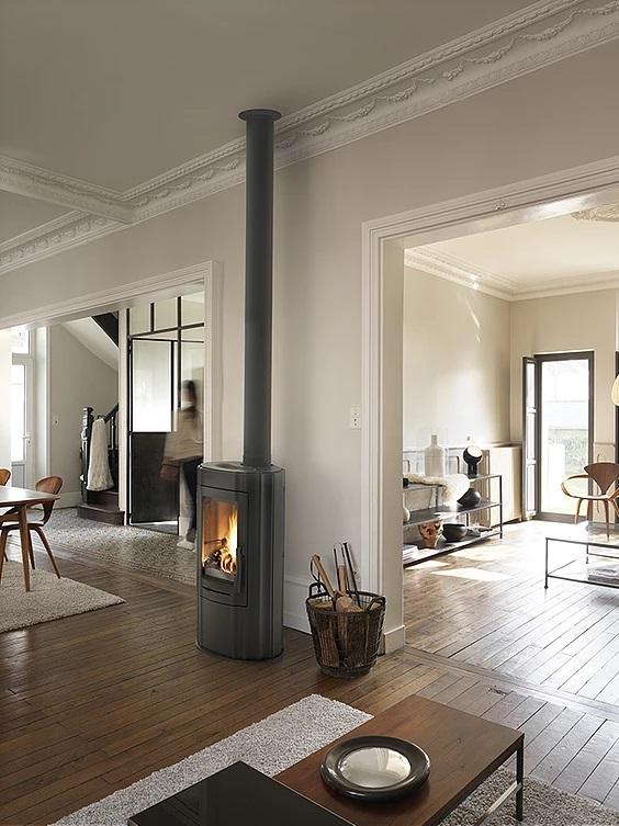 Invicta Ludia 10kW Eco Design 2022 Cast Iron Wood Stove