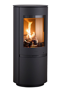Heta Scan-Line 8  4.5kW Wood Stove in Steel