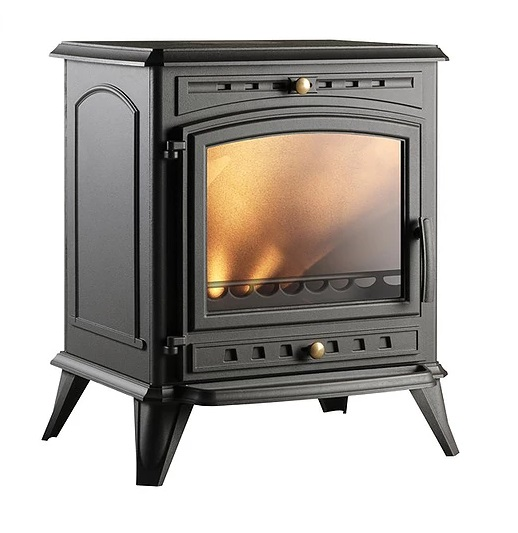 Invicta Altéa 8kW Eco Design 2022 Cast Iron Wood Burning Stove