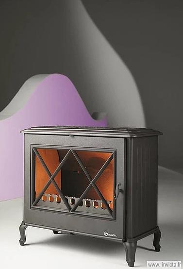 Invicta Ashford 9kW Cast Iron Wood Burning Stove
