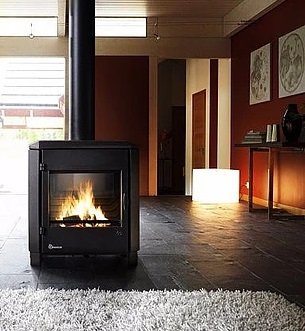 Invicta Carolo 8kW Eco Design 2022 Cast Iron Wood Stove