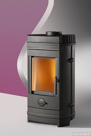 Invicta Châtel 8kW Eco Design 2022 Cast Iron Wood Stove