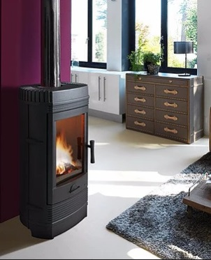 Invicta Gomont 12kW  Eco Design 2022 Cast Iron Wood Stove