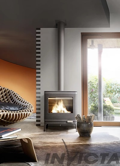 Invicta Kazan Eco Design 2022 9kW Cast Iron Wood Stove