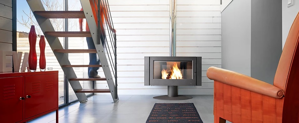 Invicta Antaya 12kW Wood Chimney Stove