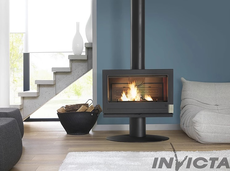 Invicta Elton 14kW Cast Iron Wood Stove
