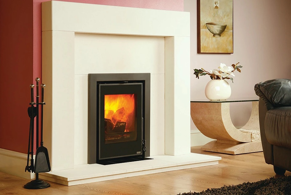 Pevex Serenity 40 4.5kW  Inset Convector Multifuel Stove