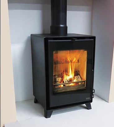 Pevex Serenity Curve 40 2 - 6kW Convector Multifuel Stove