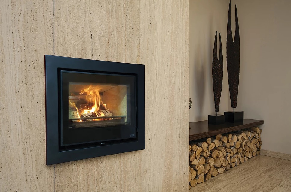 Pevex Serenity 45 4.9kW Multifuel Ecodesign Inset/fresh air Convector Stove