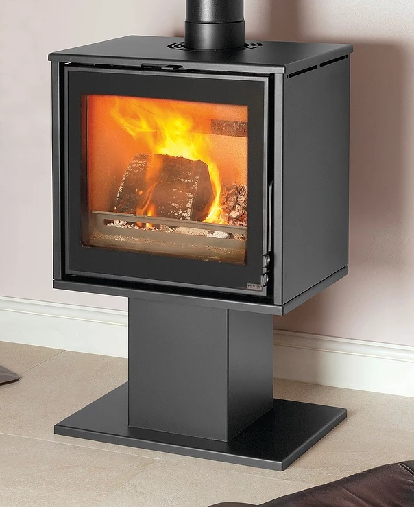 Pevex Serenity 50 Ecodesign 4 - 8kW Pedestal Inset Convector Multifuel Stove