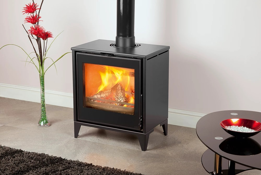 Pevex Serenity 50 FS Ecodesign Freestanding 4 - 8kW  Multifuel Convector Stove