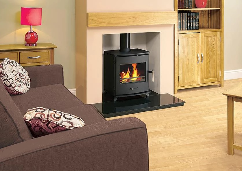 Pevex Newbourne 40FS Direct Air Eco-design 2022  Freestanding 4.5kW Multifuel Stove