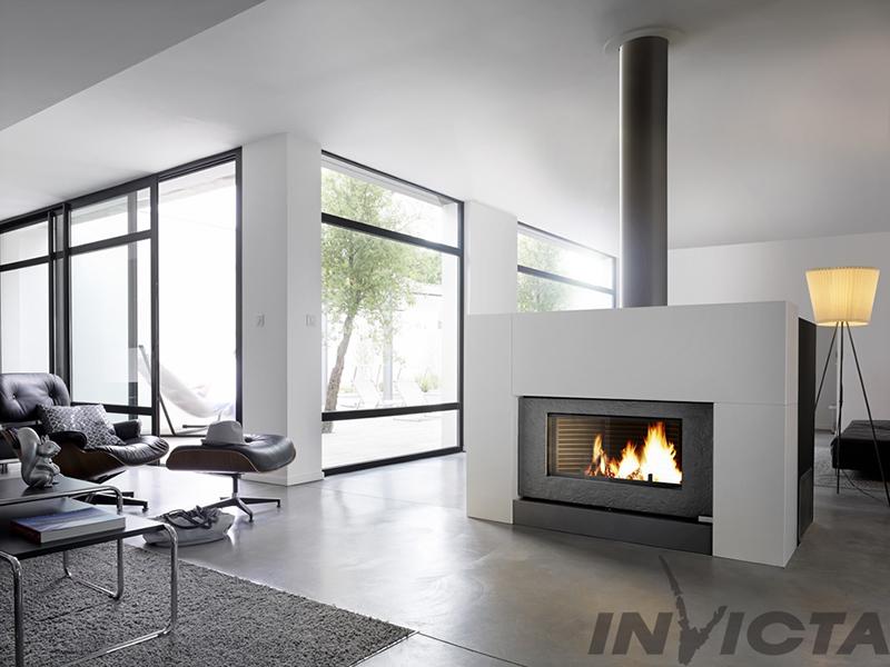 Invicta Onyx 12kW Chimney Stove