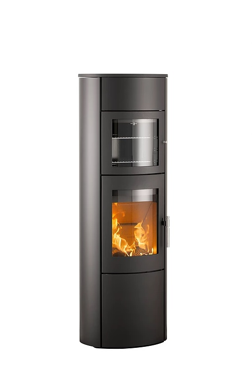 Heta Scan-Line 830S 6kW Wood Burning Stove with XL Baking Oven