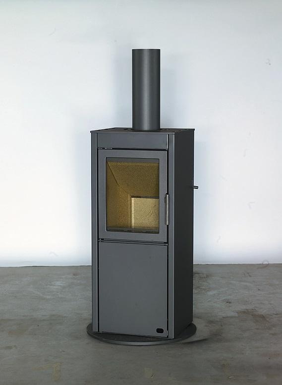 Heta Scan-Line 550 5kW Wood Burning Stove