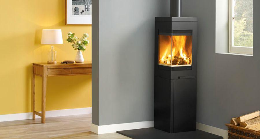 Nordpeis Quadro 3 6.2kw Wood Burning Stove