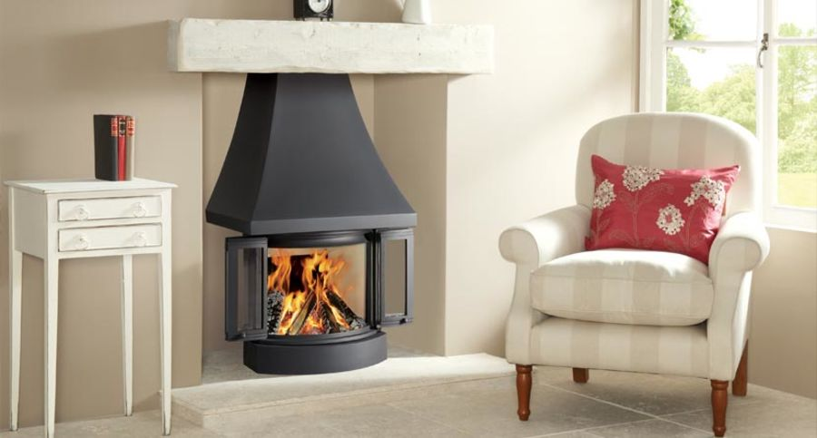 Nordpeis NI-22 Wood Burning Fire Ecodesign Ready