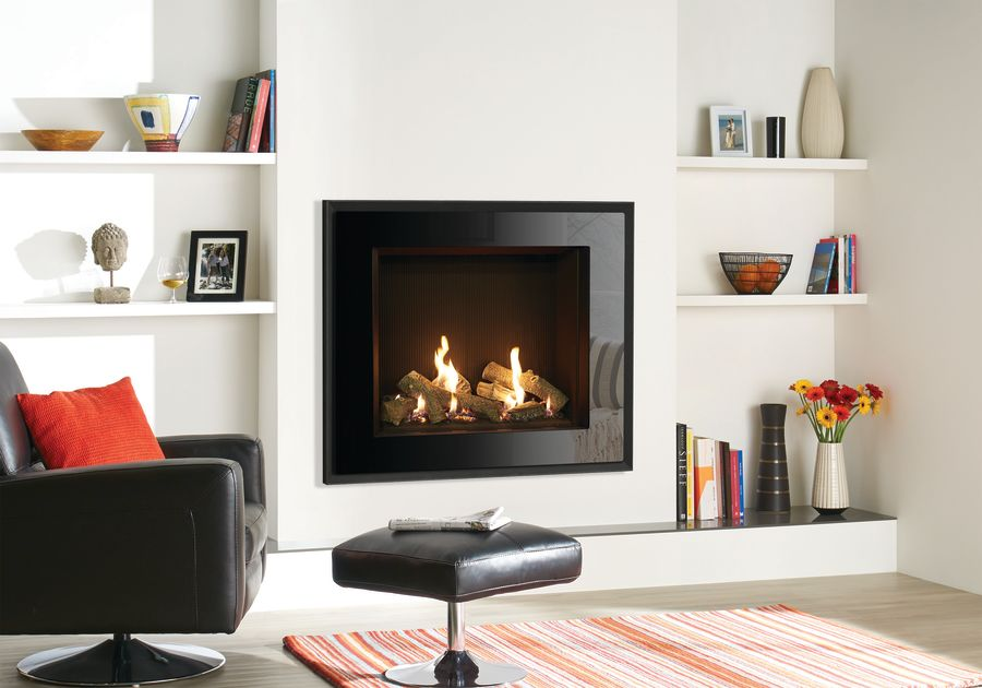 Gazco Riva2 750HL Evoke Glass Gas Fire