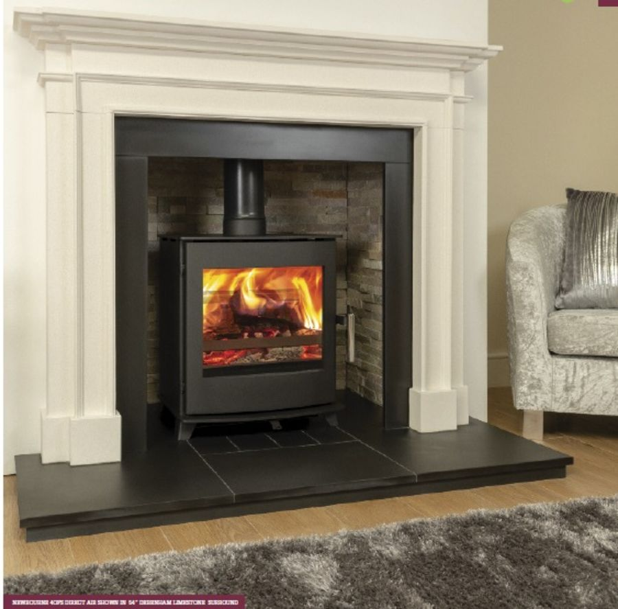 Newbourne 40FS Ecodesign 5kW Direct Air Wood-burning Stove
