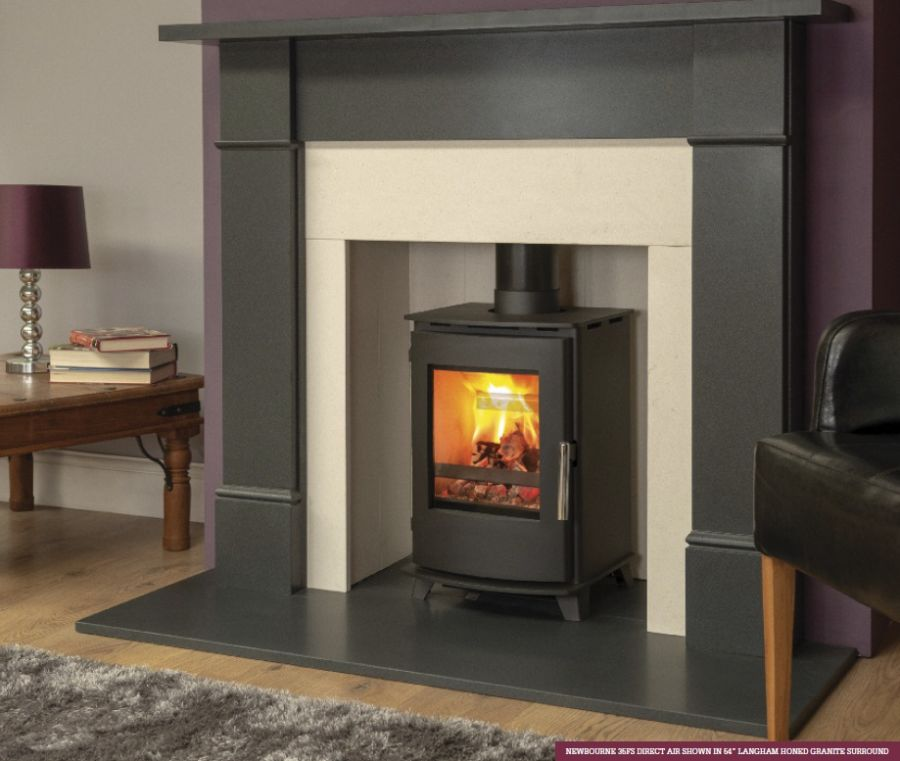 Newbourne 35FS 4.6kw Ecodesign Direct Air Woodburning Stove