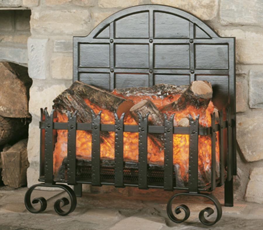 Burley Lyddington Forge Electric Basket Fire