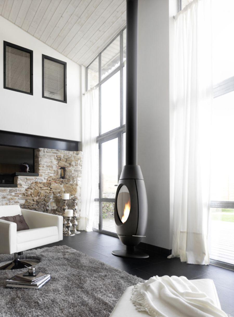 Invicta Ove Ecodesign 2022 Ready Cast Iron 10Kw Wood Stove