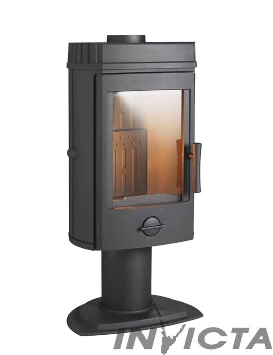 Invicta Mairy 10KW Ecodesign 2022 Pedestal Cast Iron Stove