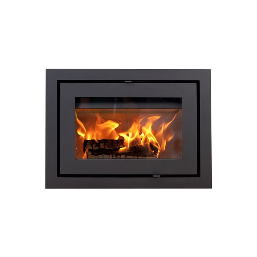 Heta Scan-Line Classic 2 Ecodesign 2022 Inset Convection Wood stove