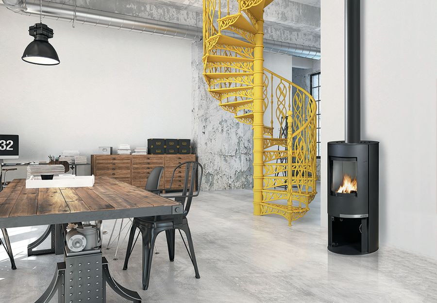 Invicta Onsen 6KW Ecodesign 2022 Wood Stove