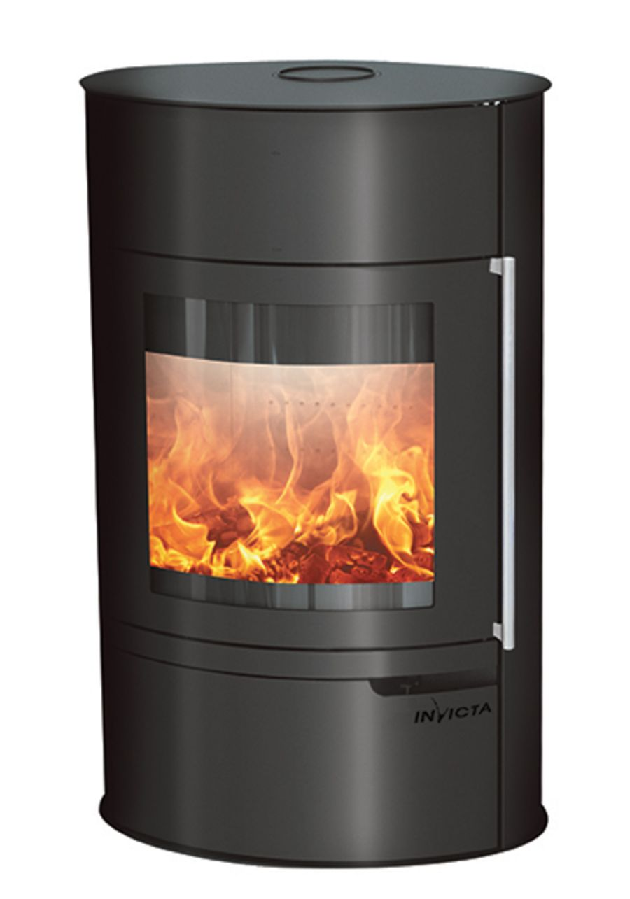 Invicta Tana on base 8kw Ecodesign 2022 wood stove