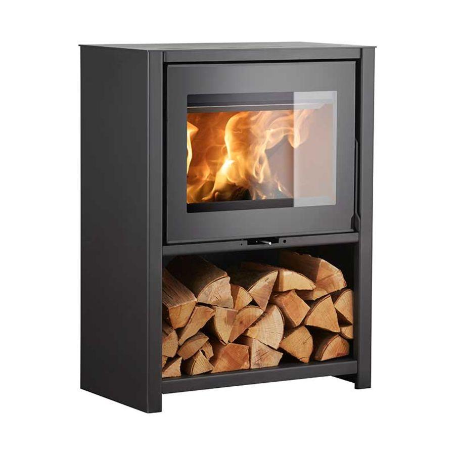 Heta Scan-line 95H Ecodesign 2022 6.5kw Wood Stove