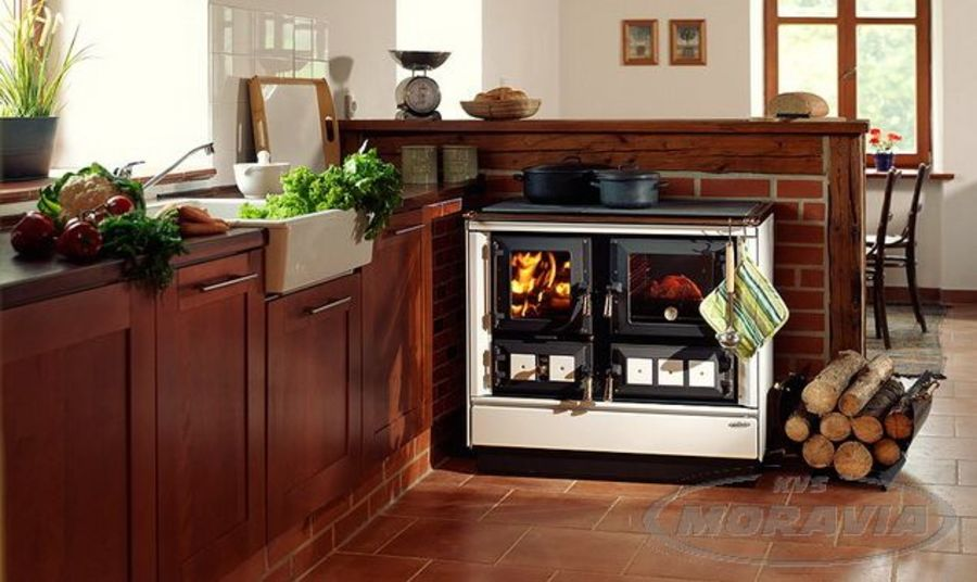 KVS Moravia 9112 solid-fuel range cooker Ecodesign 2022 Ready