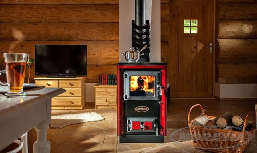 KVS Moravia 9114 Wood Stove with hob cooking top  Ecodesign 2022 Ready